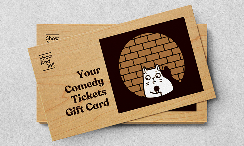 Your Comedy Tickets Gift Card
